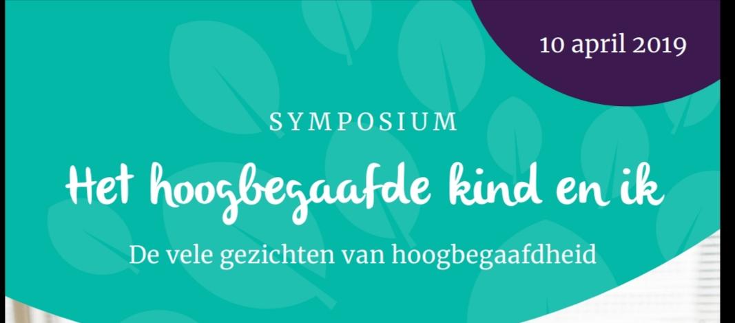 symposium hoogbegaafde kind en ik